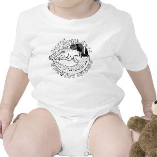 Roca de WTUL 2014 en enredadera del niño del marat Trajes De Bebé