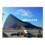 Roca del aeropuerto de Gibraltar Postal
