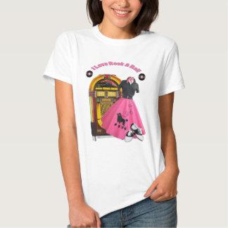 roca del amor de los años 50 I y camiseta del Polera