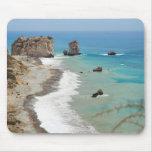 Roca del Aphrodite, Chipre Tapete De Ratón