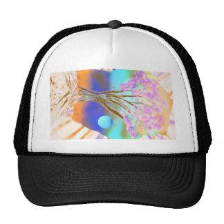 roca del árbol spacepainting colores invertidos