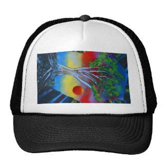 roca del árbol spacepainting imagen colorida