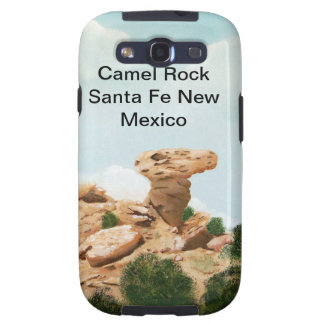 Roca del camello - pintura al óleo de Santa Fe, Ne Galaxy SIII Fundas