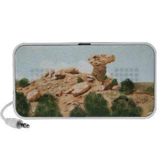 Roca del camello - pintura al óleo de Santa Fe, Ne PC Altavoces