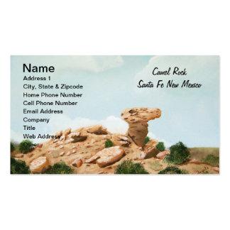 Roca del camello - pintura al óleo de Santa Fe, Tarjetas De Visita