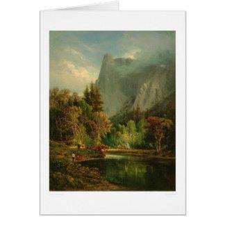 Roca del centinela, Yosemite, California (0797A) Tarjeta De Felicitación