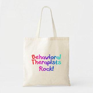 Roca del comportamiento de los terapeutas bolsa tela barata