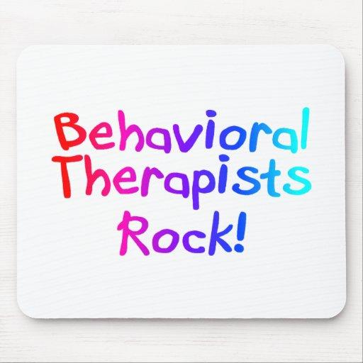 Roca del comportamiento de los terapeutas mouse pads