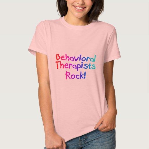 Roca del comportamiento de los terapeutas playeras