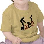 Roca del desgaste de los En-Niños de la roca Camiseta