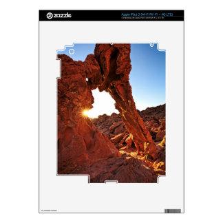 Roca del elefante en el valle del fuego pegatina skin para iPad 3