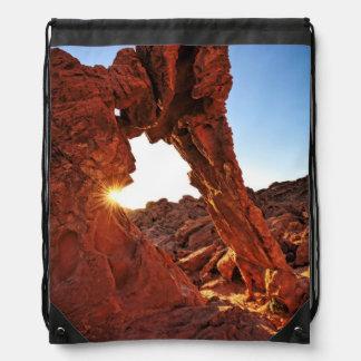 Roca del elefante en el valle del fuego mochilas