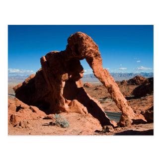 Roca del elefante tarjeta postal
