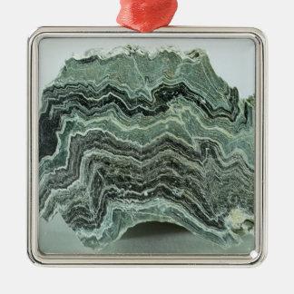 Roca del esquisto ornaments para arbol de navidad
