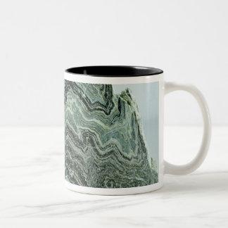 Roca del esquisto taza de dos tonos