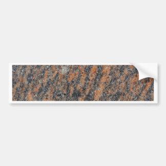 Roca del gneis pegatina para auto