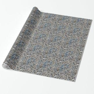 Roca del granito tejada papel de regalo
