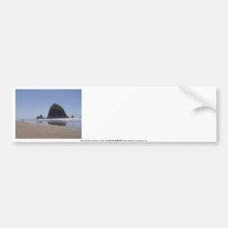 Roca del Haystack Etiqueta De Parachoque