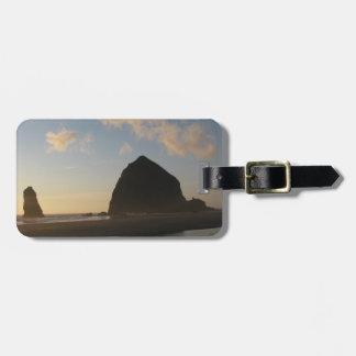 Roca del Haystack, playa del cañón Etiquetas De Maletas