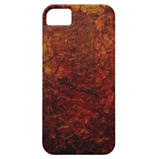 Roca del magma iPhone 5 carcasas