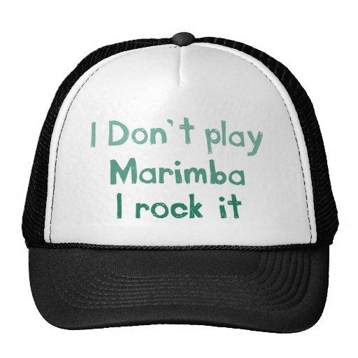 Roca del Marimba él gorra