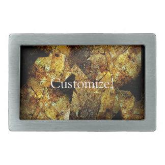 Roca del personalizar que pinta el roduct texturiz hebilla cinturon rectangular