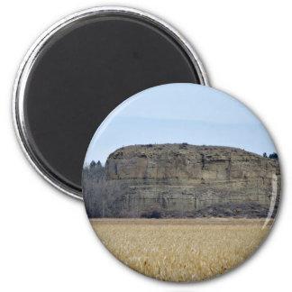 Roca del pilar de Pompeys Imán Redondo 5 Cm