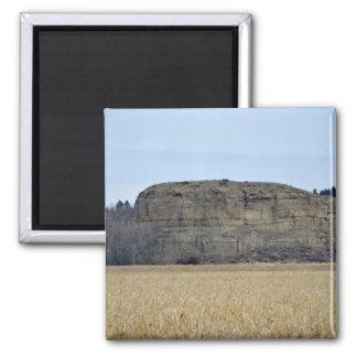 Roca del pilar de Pompeys Imán Cuadrado