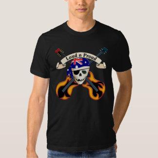 Roca del pirata (Aussie) Remera