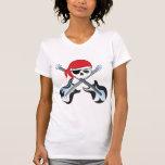 Roca del pirata camisetas