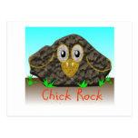 Roca del polluelo tarjetas postales