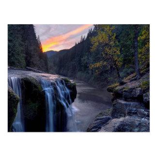 Roca del río tarjetas postales