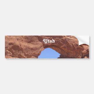 Roca del rojo de Utah Pegatina Para Coche