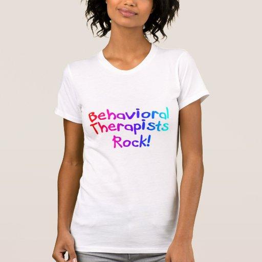 Roca del terapeuta de Bahaviorial Camiseta