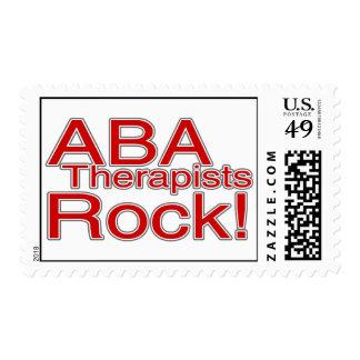 ¡Roca del terapeuta del ABA! Sello