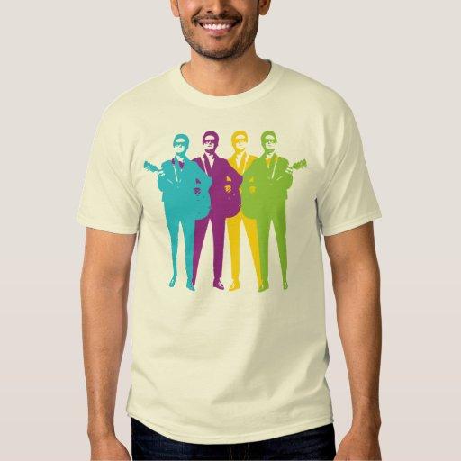 Roca del vintage y camiseta retras del Rockabilly Remera
