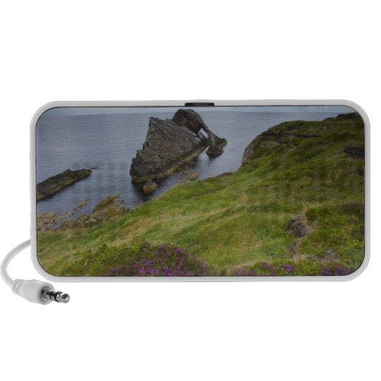 Roca del violín del arco, Portknockie, Escocia Altavoz De Viajar