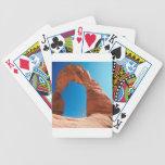 Roca en el arco baraja de cartas