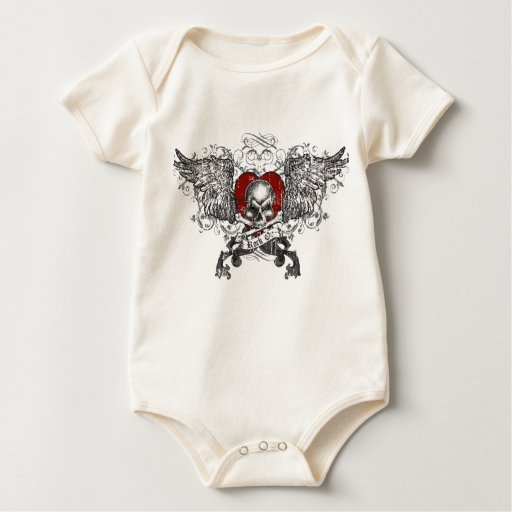 Roca en el cráneo w/Wings Body Para Bebé
