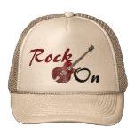 Roca en el gorra