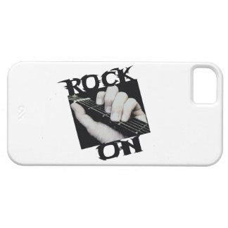 Roca en guitarrista iPhone 5 funda