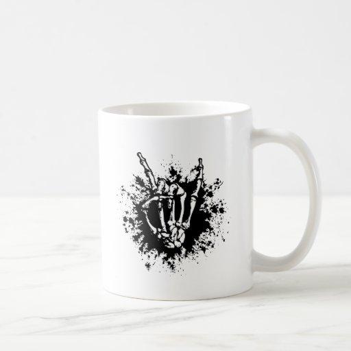 Roca en hueso taza