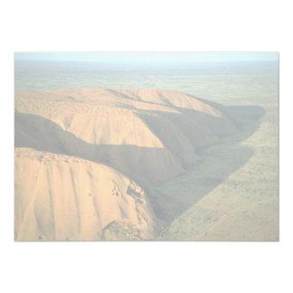 Roca en la puesta del sol, desierto de Ayers de Comunicados Personalizados