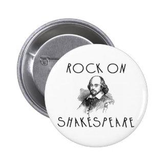Roca en Shakespeare Pin Redondo De 2 Pulgadas