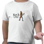 Roca encendido camiseta