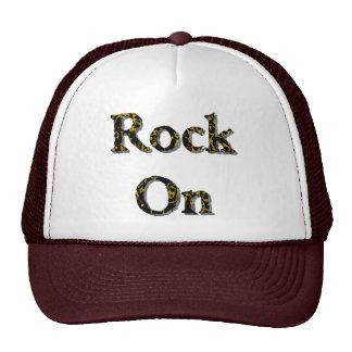 Roca encendido gorras
