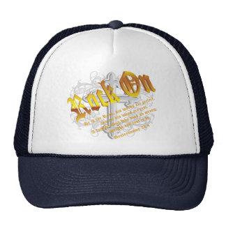 Roca encendido gorras de camionero