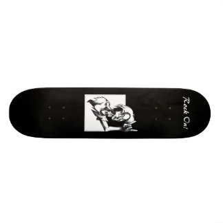 ¡Roca encendido! Skateboard