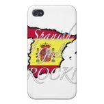 ¡Roca española de los chicas! iPhone 4 Protector