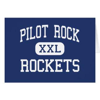Roca experimental - Rockets - alta - roca experime Tarjeta
